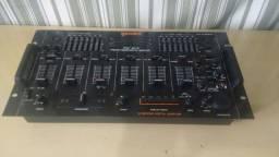Mixer Gemini PDM 6012 e Amplificador Gradiente  (contato na descrição)