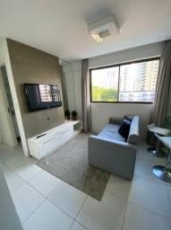 Apartamento Mobiliado com 30m² Edf. Golden View.