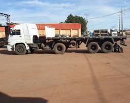 Caminhão 40-300 cavalo toco e carreta 2 eixos 85 mil já com serviço fixo