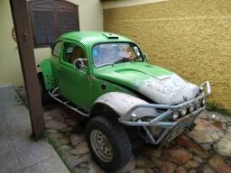 Fusca Baja 1973 motor AP 2.0 preparado gaiola autocross gurgel jeep