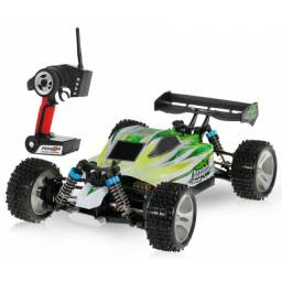 Automodelo Off Road WLtoys Brave PRO Buggy Racing A959-B 1/18 RTR 4WD Max 70km/h-Verde