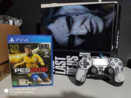 PS4 500gb  THE LAST OF US 500 GB COMPLETO