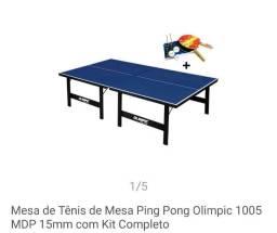 Mesa de Tênis de mesa oficial Ping Pong Olimpic