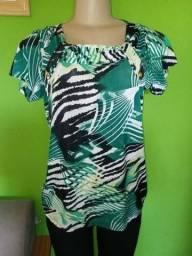 Blusas Femininas em Malha, diversos modelos e estampas - G