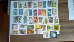 Coleção de Selos Antigos 76 Selos