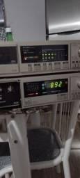 Receiver e tape deck gradiente DS 20
