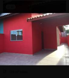 Casa com 2 quartos, garagem, estilo colonial individual