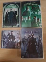 coleção Matrix cd e dvds