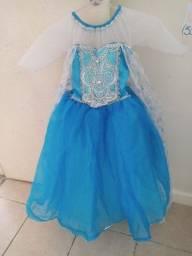 Vestido princesa Frozen