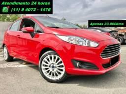 New Fiesta Titanium Apenas 33.000kms Novissímo!!!!