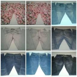 Lote Jeans 20 Peças