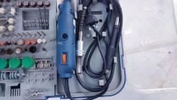 Micro Retífica 110v com Controle de Velocidade - Funcionando Perfeitamente como Nova