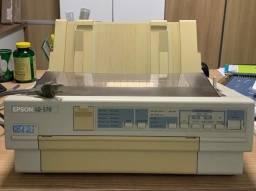 Impressora epson lq-570+ matricial  seminova