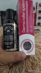 minoxidil 10% / Dermaroller agulha 0.5