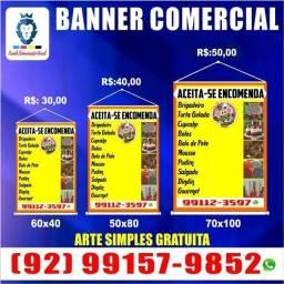 Impressão de banner, entrega em toda Manaus!