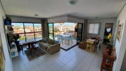 Apartamento Duplex com 3 dormitórios à venda, 136 m² por R$ 750.000 - Porto das Dunas - Aq