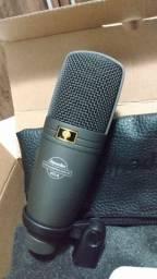 Microfone troco por baixo