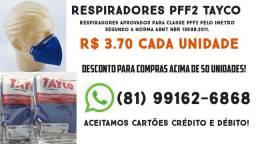 Máscara Respiradores TAYCO PFF2