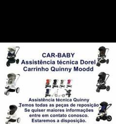 Conserto de carrinho de bebê