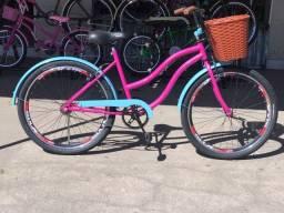 Bicicleta nova Wave Feminina retrô