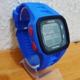 Relógio a prova d?água com garantia.