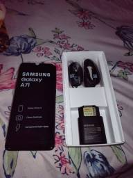 Samsung A-71 black lacrado nota