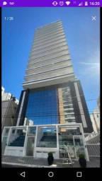 Alugo apartamento 02 dormitórios na cidade de Praia Grande bairro Canto do Forte