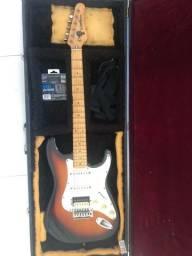 Guitarra Washburn Lyon usada e case