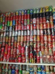 Enorme coleção de latas (2.100)