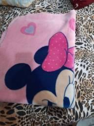 Vendo cobertor de bb menina miniie
