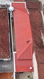 Telhados  e calhas  .piso e eletrica
