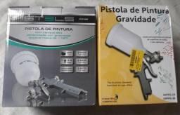 Pistola de pintura STELS com 03 Bicos
