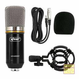 Título do anúncio: Microfone Condensador Knup KP-M0021 Unidirecional
