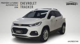 CHEVROLET TRACKER 1.4 TURBO AUTOMÁTICO COMPLETO 2018