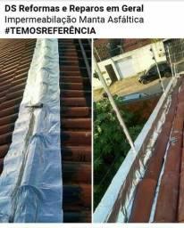Reparo em Telhados