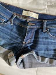 Shorts Abercrombie TAM 36/38 BR