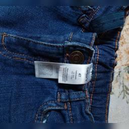 Calça jeans infantil Carter's tamanho 4
