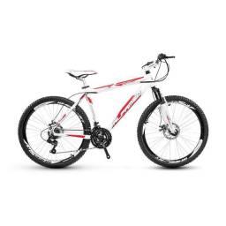 bicicleta alumínio alfameq stroll aro 29 freio a disco