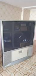 """TV LG 54"""" Mod: Rp-54Na21P C/Defeito Pra Aproveitar Peças. Ela não liga!"""