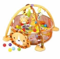Tapete piscina de bolinhas baby Style leão