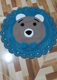 Tapete de urso em croche