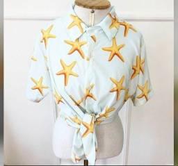 Camisa Feminina Estrela do mar