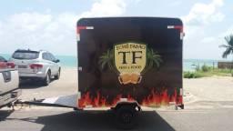 Trailer 2x2m Promoção Food Truck Oferta Poucas Unidades Direto do Fabricante Especialista