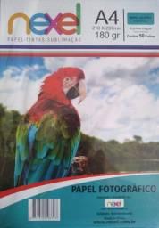 PAPEL FOTOGRÁFICO NEXEL A4 180G C/50FLS