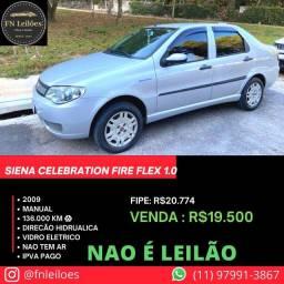 Título do anúncio: Siena celebration 2009 fire Flex