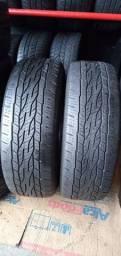 02 pneus meia vida da pra ror muito medida 215/60/17  cada 180.00