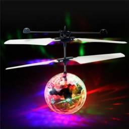 Drone Bolinha Voadora Com Sensor Infantil Recarregável
