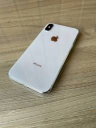 iPhone X branco 64GB