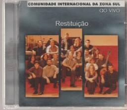 Cd Restituição 2002 Comunidade Internacional Da Zona Sul