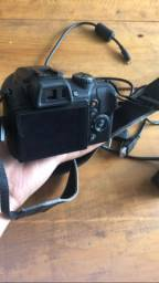 Camera Fujifilm semi profissional 16 mega pixel